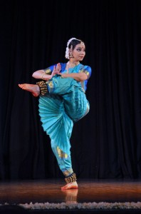 Sneha Chakradhar performing Indian classical dance Bharatanatyam